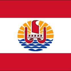 French Polynesia Flag Icon