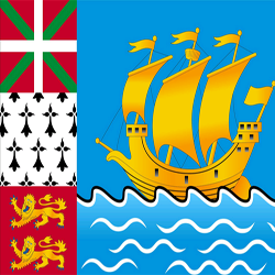 Saint Pierre And Miquelon Flag Icon