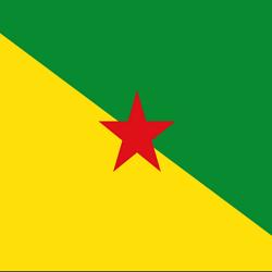 French Guiana Flag