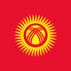 Kyrgyzstan Flag Icon
