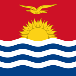 Kiribati Flag Icon