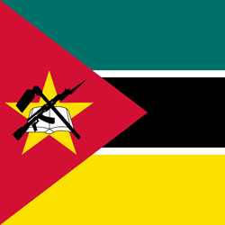 Mozambique Flag Icon