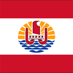 French Polynesia Flag Icon