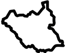 South Sudan Map Icon